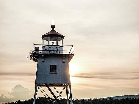 Grand Marais Lighthouse by Whitney Leigh Carlson
