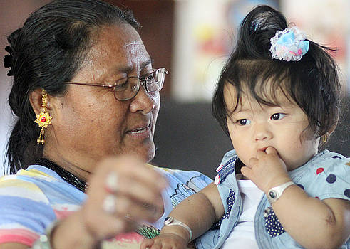 Binod - Grand Mother/Daughter