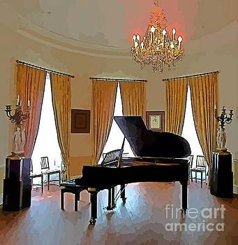 John Malone - Grand Piano Abstract Art