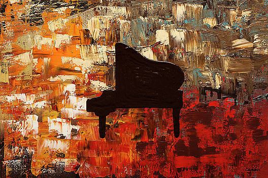 Grand Piano by Carmen Guedez