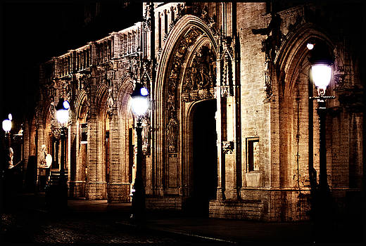 Grand Place Bruxelles by night by Tina Zaknic - Xignich Photography