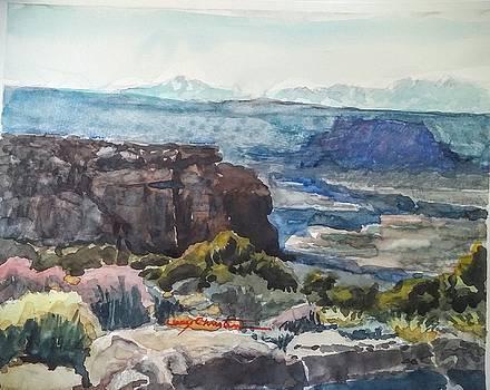 Grand Point Overlook by Larry Christensen