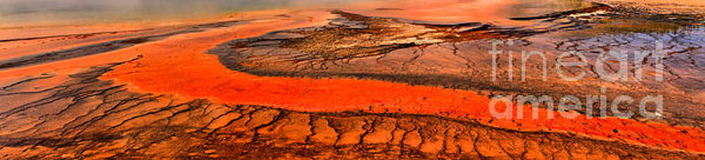 Adam Jewell - Grand Prismatic Bacterial Mat Panorama
