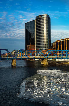 Grand Rapids Amway and Blue Bridge by J Thomas