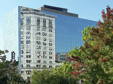 Grand Rapids Reflection by Kevin Snider