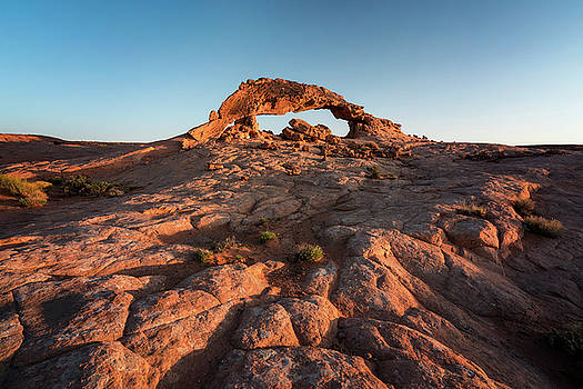 Grand Staircase Arch at Sunrise by James Udall