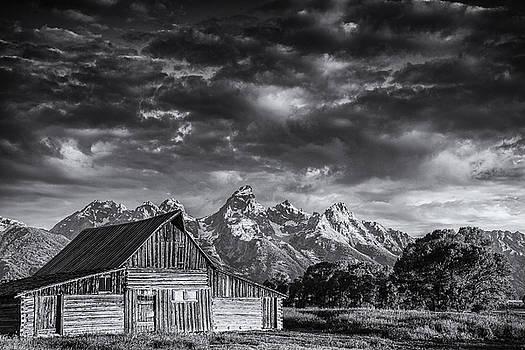 Grand Teton Barn by Andrew Soundarajan