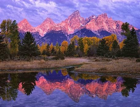 Grand Teton Morning Reflection by Philip Bobrow