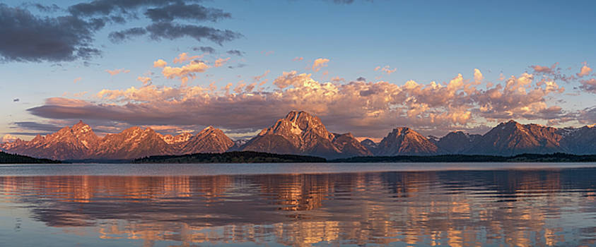 Tibor Vari - Grand Teton Mountain Range in Sunrise