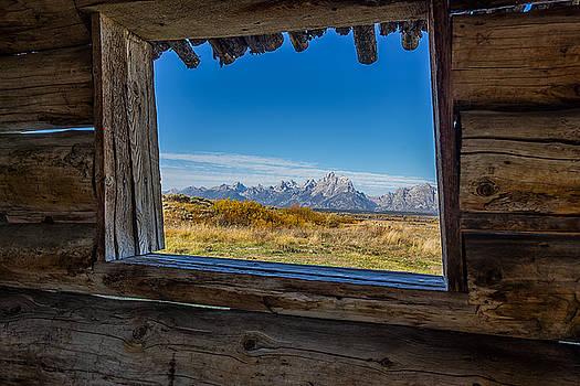 Grand Teton National Park - Cunningham Cabin by Jason Penland