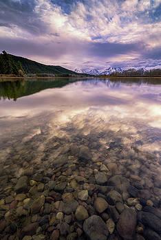 Grand Teton National Park - Oxbow Bend - Stones Throw by Jason Penland