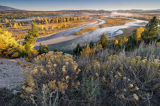 Grand Teton National Park - Snake River by Jason Penland