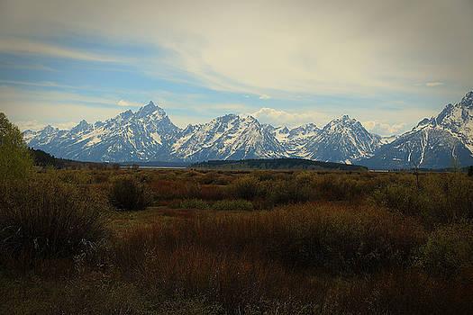 Grand Teton Range by Robert Melvin