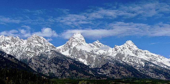 Grand Teton Rising by Travis Deaton