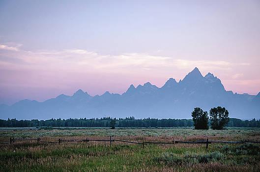 Grand Teton Sunset by Margaret Pitcher