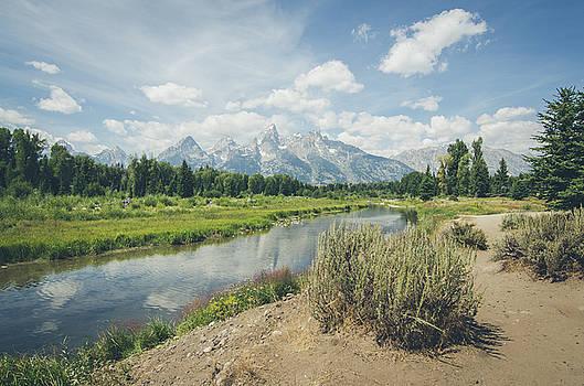 Grand Teton View No.2 by Margaret Pitcher