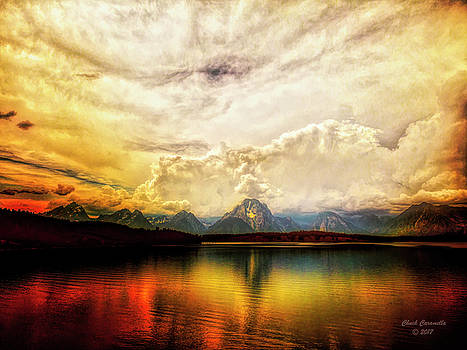 Grand Tetons - Jenny Lake No. 2 by Chuck Caramella