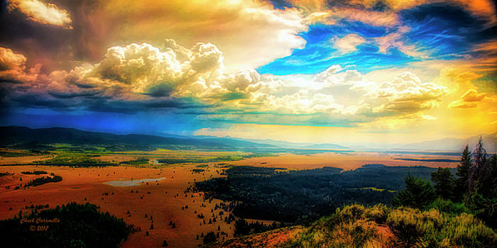Grand Tetons - Lookout Point by Chuck Caramella
