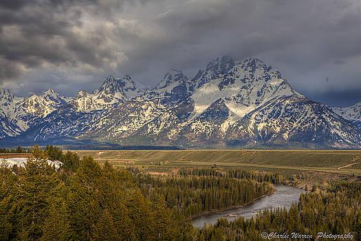 Grand Tetons Snake River by Charles Warren