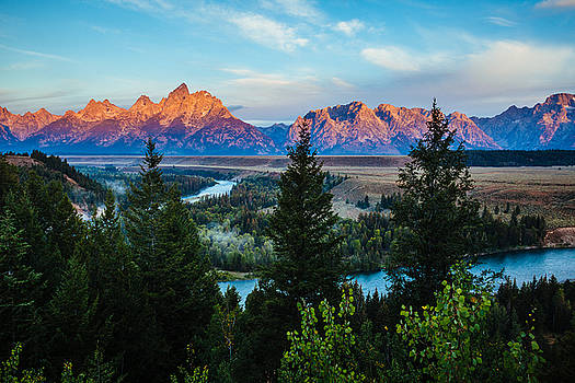 Grand Tetons sunrise by Prashant Thumma
