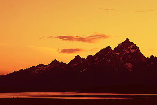 Teresa Zieba - Grand Tetons Sunset