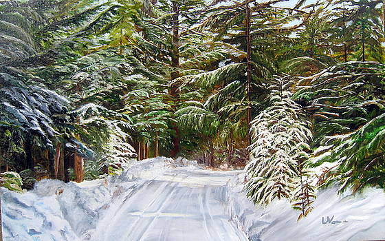 Grand View Drive by LaVonne Hand