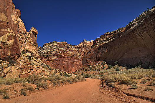 Grand Wash Road by Tom Winfield
