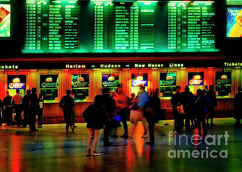 Grand Central Station NYC by Tom Jelen