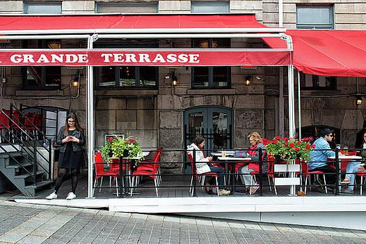 Grande Terrasse in Montreal by Michael Gallitelli