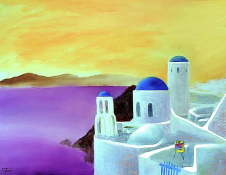 Grandeur Of Greece by Larry Cirigliano