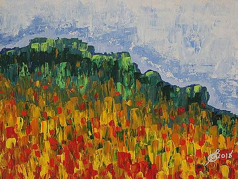 Grandfather Mountain original painting by Sol Luckman