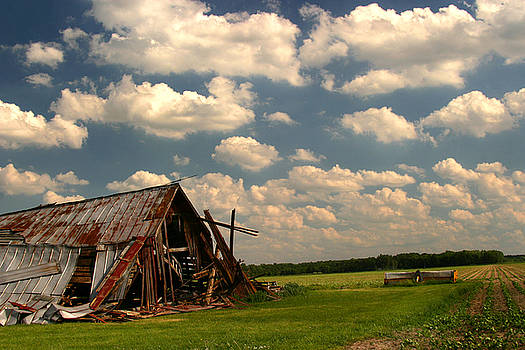 Grandmas Barn by Lon Casler Bixby