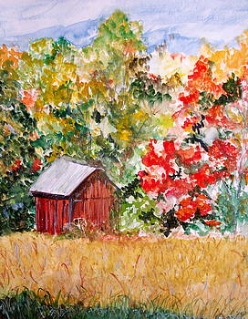 Grandma's Barn by Maria Mills