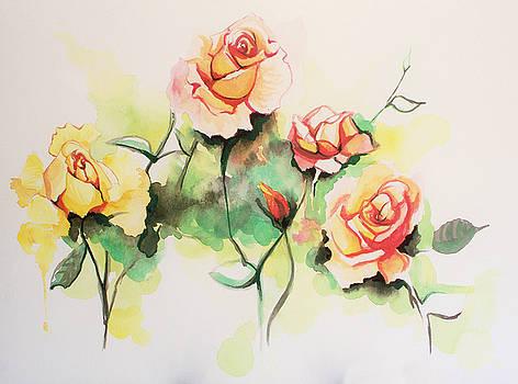 Grandma's Roses by Lauren Penha