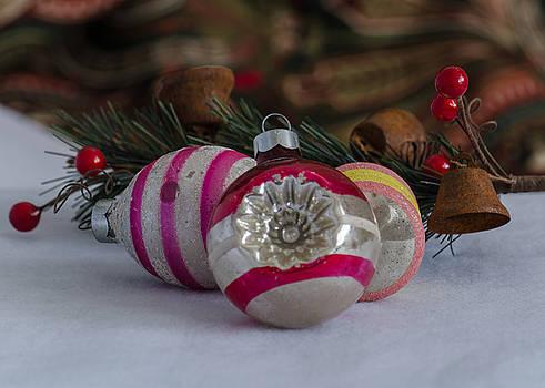 Grandma's Vintage Ornaments by Stephanie Maatta Smith