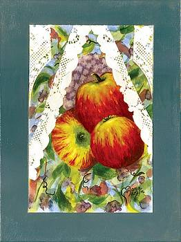 Grandma's Window 3 by Ramona Martin