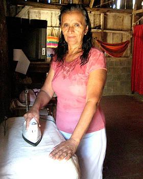 Maria Fernanda - Grandmother Ironing