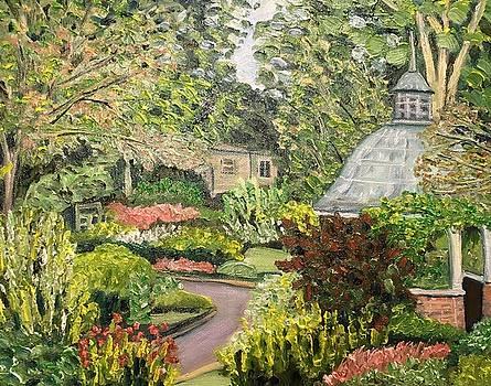 Grandmother's Garden-Summer View by Richard Nowak