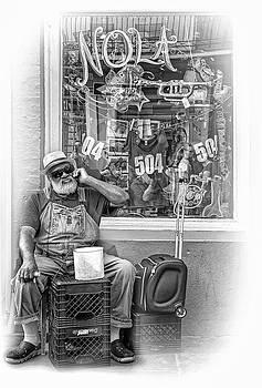 Steve Harrington - Grandpa Elliott Small - Vignette bw