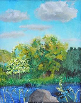 Grandpa's Pond by Stormy Miller