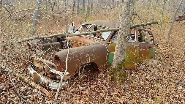 Grandpa's Ford by Jan VonBokel