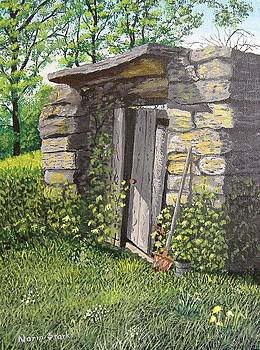 Grandpa's Old Root Cellar by Norm Starks