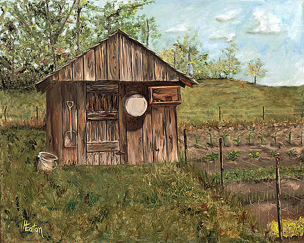Grandpa's Smokehouse by Helen Eaton