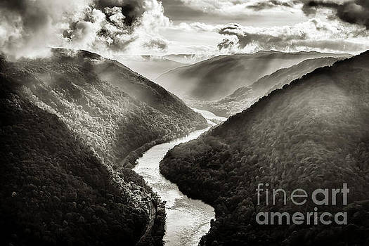 Grandview in Black and White by Thomas R Fletcher