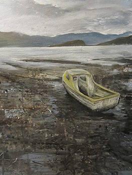 Granela at low tide by Cindie Reiter