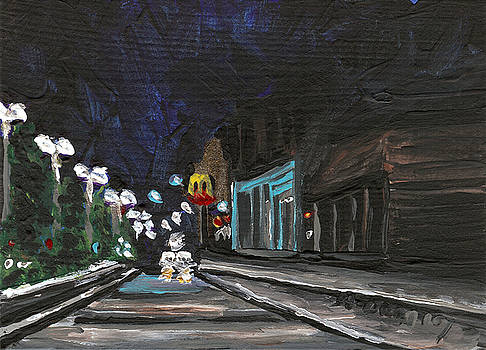 Granite City 5 by Helena M Langley