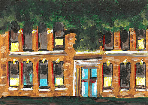 Granite City 6 by Helena M Langley