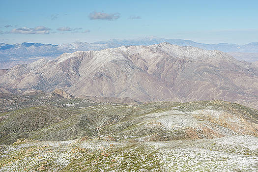 Granite Mountain with a dusting of snow by Alexander Kunz