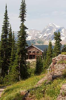 Granite Park Chalet and Heaven's Peak 2 by Katie LaSalle-Lowery