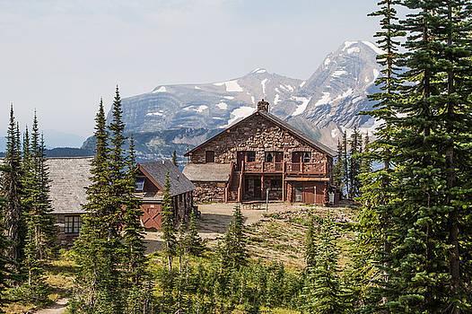 Granite Park Chalet and Heaven's Peak 3 by Katie LaSalle-Lowery